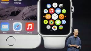 Tim Cook Debuts the Apples Watch and other goodies at Apple's Spring Forwared Event (Picture taken by www.foxnew.com)