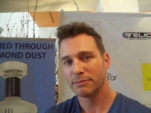 Eric Martsolf plays Brady Black in NBC's 'Days of Our Lives.' (Photo Credit: Eunice Moseley)