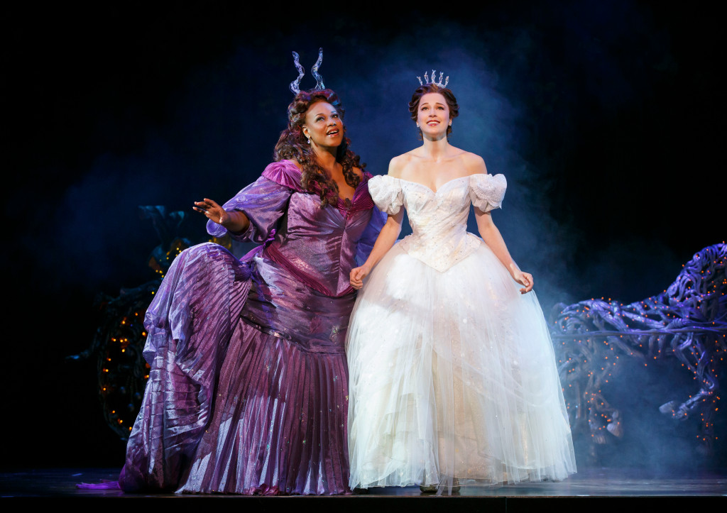 Kecia Lewis and Paige Faure in Cinderella