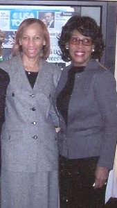 Magetta with Congresswoman Waters