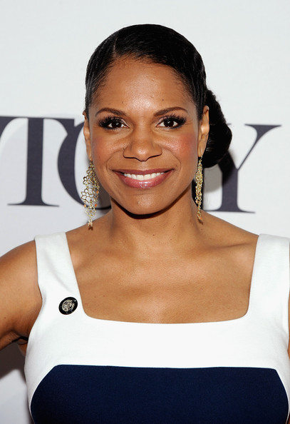 """Audra McDonald, nominee for Best Performance by an Actress in a Leading Role in a Play for """"Lady Day at Emerson's Bar & Grill,"""" attends the 2014 Tony Awards Meet The Nominees Press Reception at the Paramount Hotel on April 30, 2014 in New York City"""