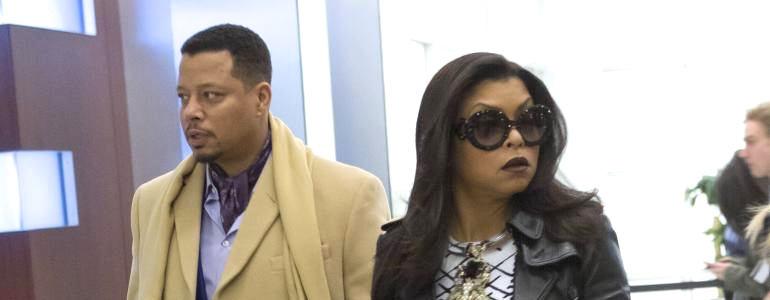 terrence howard & taraji p. henson