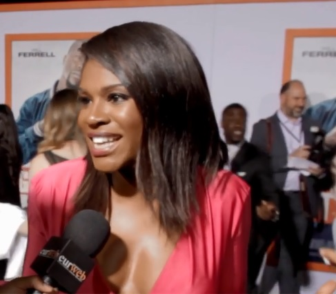Edwina Findley at 'Get Hard' premiere
