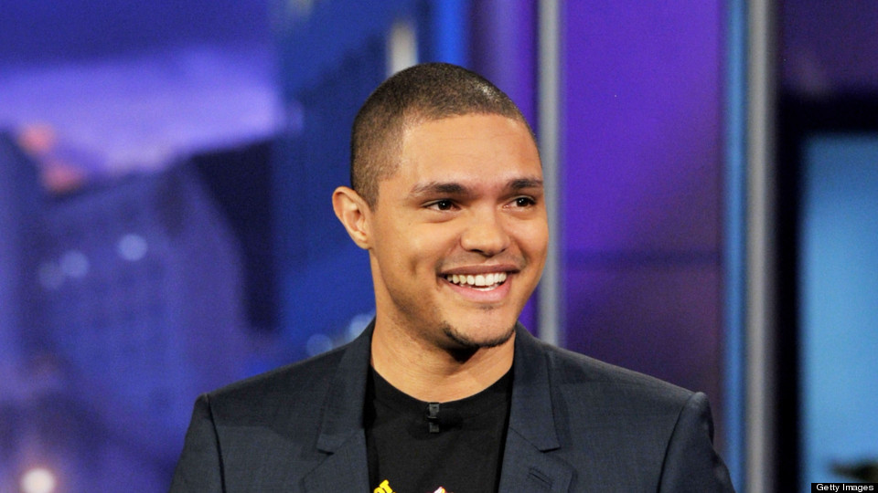 Comedian Trevor Noah performs on the Tonight Show With Jay Leno at NBC Studios on January 6, 2012 in Burbank