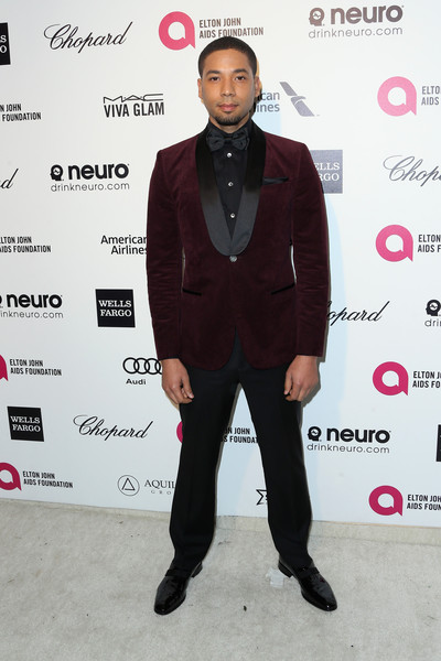 Actor Jussie Smollett attends the 23rd Annual Elton John AIDS Foundation's Oscar Viewing Party on February 22, 2015 in West Hollywood, California