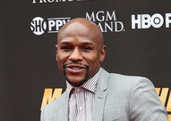mayweather red carpet