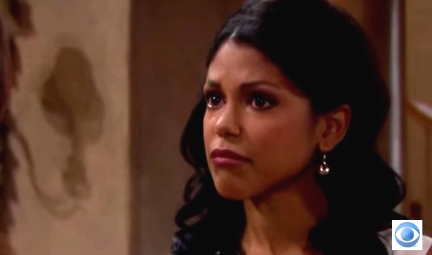 "Karla Mosley as Myra/Myron on ""The Bold and the Beautiful"""
