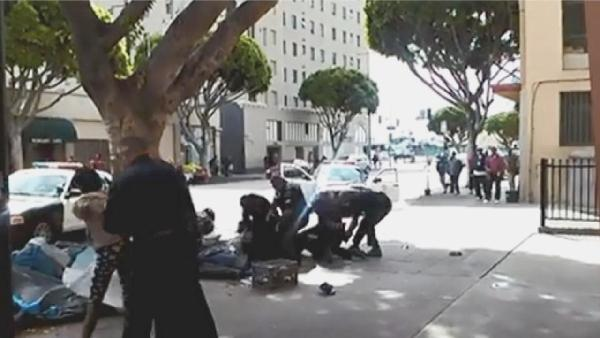 skid row - lapd shooting