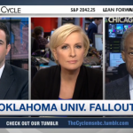MSNBC's Mika Clarifies Comment that Rap Caused SAE's Racist Chant (Watch)