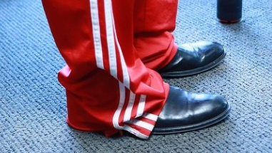 tyrese adidas church shoes