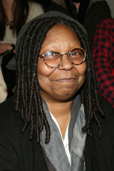 Whoopi Goldberg attends the KTZÂ runway show during Mercedes-Benz Fashion Week Fall 2015 at Milk Studios on February 17, 2015 in New York City