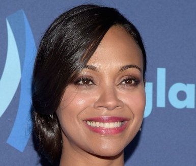 Actress Zoe Saldana attends the 26th Annual GLAAD Media Awards at The Beverly Hilton Hotel on March 21, 2015 in Beverly Hills, California