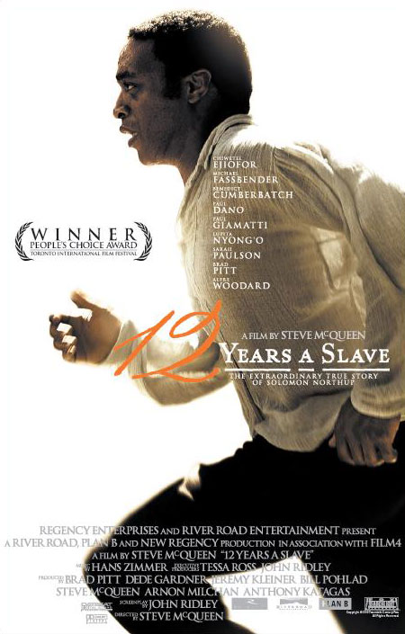 12 years a slave poster art