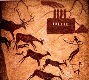 Ancient America Sacred Cave Art # 5 - Modern World Meets Ancient Hunters