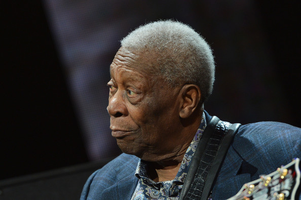 B.B. King performs on stage during the 2013 Crossroads Guitar Festival at Madison Square Garden on April 12, 2013 in New York City