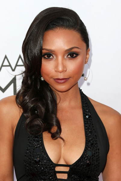 Actress Danielle Nicolet attends the 46th NAACP Image Awards presented by TV One at Pasadena Civic Auditorium on February 6, 2015 in Pasadena, California
