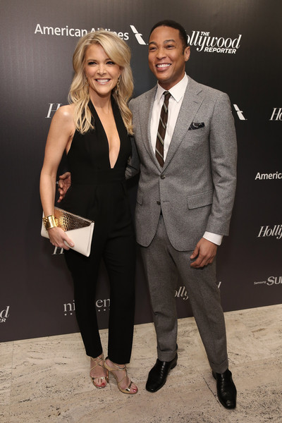 Megyn Kelly and Don Lemon attend 'The 35 Most Powerful People In Media' celebrated by The Hollywoood Reporter at Four Seasons Restaurant on April 8, 2015 in New York City