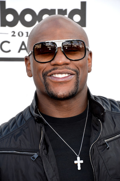 Boxer Floyd Mayweather attends the 2014 Billboard Music Awards at the MGM Grand Garden Arena on May 18, 2014 in Las Vegas, Nevada