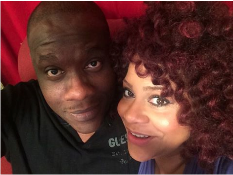 Kim Coles and Fiance