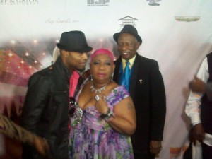 Comedienne/actress Luenell (Taken 2) at her birthday party at OHM Night Club in Hollywood. (Photo Credit: Eunice Moseley)