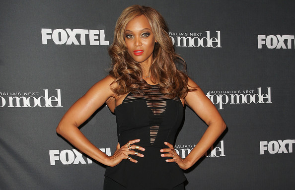 America's Next Top Model creator and host Tyra Banks appears at Carriageworks on December 5, 2014 in Sydney, Australia