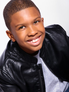 Award winning nine year-old actor Anthony Michael Hobbs wins the Montclair Film Festival Grand Prize.