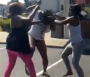 black women fighting