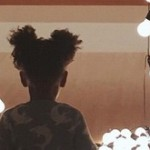 And Now…Blue Ivy in Silhouette at MOCA