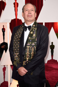 Composer Hans Zimmer attends the 87th Annual Academy Awards at Hollywood & Highland Center on February 22, 2015 in Hollywood, California