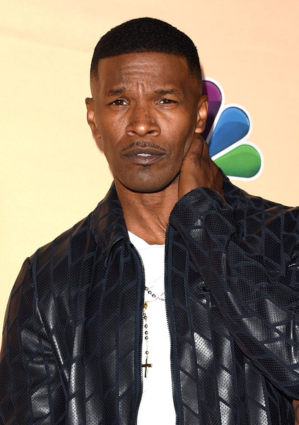 Host Jamie Foxx poses in the press room during the 2015 iHeartRadio Music Awards which broadcasted live on NBC from The Shrine Auditorium on March 29, 2015 in Los Angeles, California
