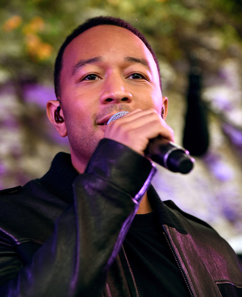 John Legend performs at the Axe/Spin House during the 2015 SXSW Music, Fim + Interactive Festival at Cheer Up Charlie's on March 21, 2015 in Austin, Texas