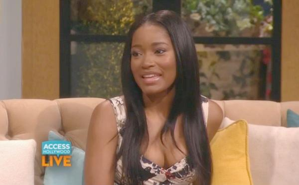 keke palmer (access hollywood live screenshot)