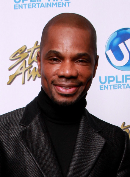 Kirk Franklin backstage at the 2014 Stellar Awards at Nashville Municipal Auditorium on January 18, 2014 in Nashville, Tennessee