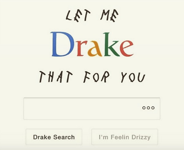 let me drake that for you,