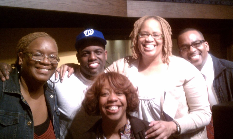 Martin's Favor with producer Warryn Campbell