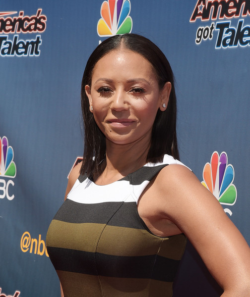 """Mel B attends the """"America's Got Talent"""" Season 10 Red Carpet Event at Dolby Theatre on April 8, 2015 in Hollywood, California"""