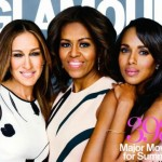 Michelle Obama Covers Glamour with Kerry Washington, Sarah Jessica Parker
