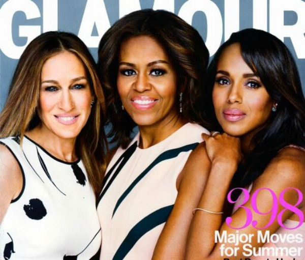 michelle obama, kerry washington, sarah jessica parker,