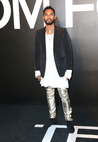 Recording artist Miguel attends Tom Ford Autumn/Winter 2015 Womenswear Collection Presentation at Milk Studios on February 20, 2015 in Hollywood, California