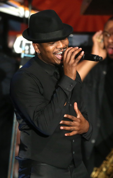 Ne-Yo performs onstage during the 22nd Annual Race To Erase MS Event at the Hyatt Regency Century Plaza on April 24, 2015 in Century City, California
