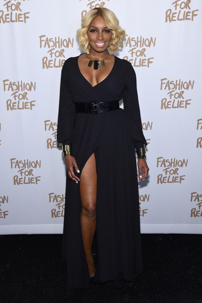 NeNe Leakes attends Naomi Campbell's Fashion For Relief Charity Fashion Show during Mercedes-Benz Fashion Week Fall 2015 at The Theatre at Lincoln Center on February 14, 2015 in New York City