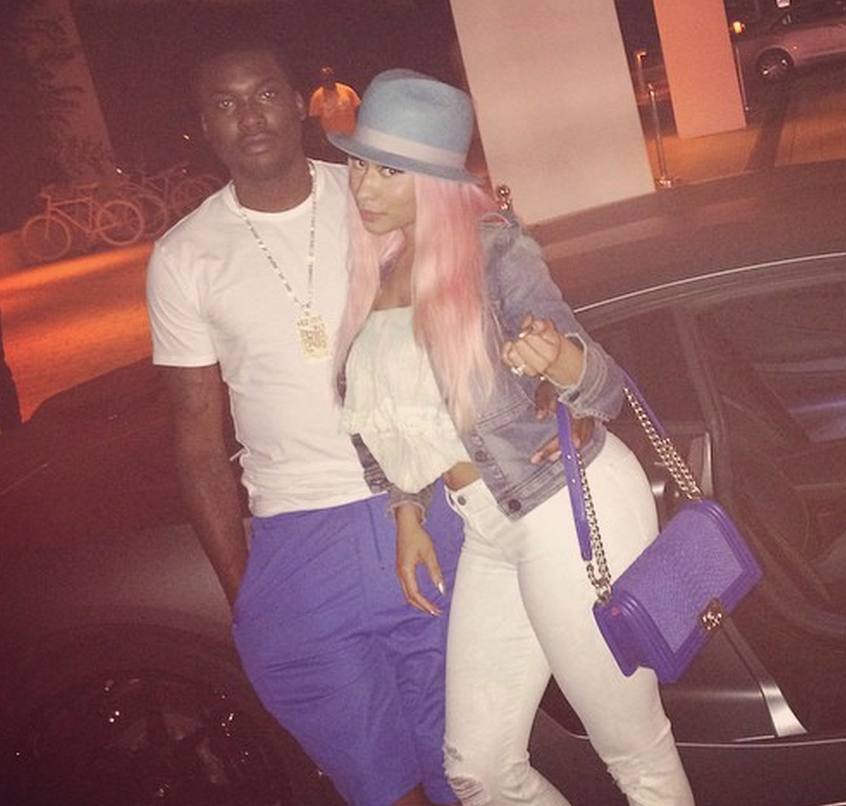 nicki minaj, meek mill,