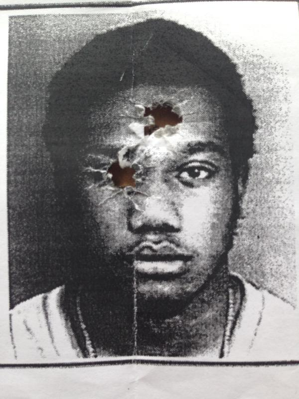 police shooting photo