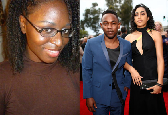 rashida-marie-shrober and kendrick lamar and whitney alford