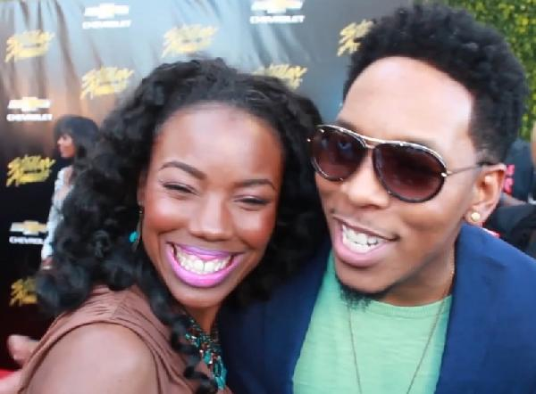 lacora & deitrick haddon - stellar awards red carpet