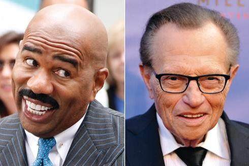 steve harvey & larry king