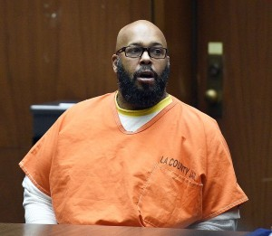 "Marion ""Suge"" Knight appears for a hearing at the Clara Shortridge Foltz Criminal Justice Center March 9, 2015 in Los Angeles, California"