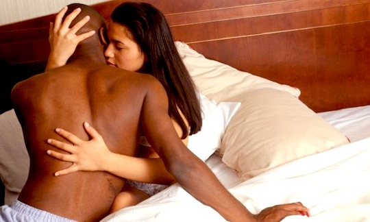 Asian Woman And Black Man Having Sex 79