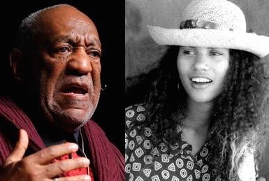 Bill Cosby and Lise Lotte Lublin