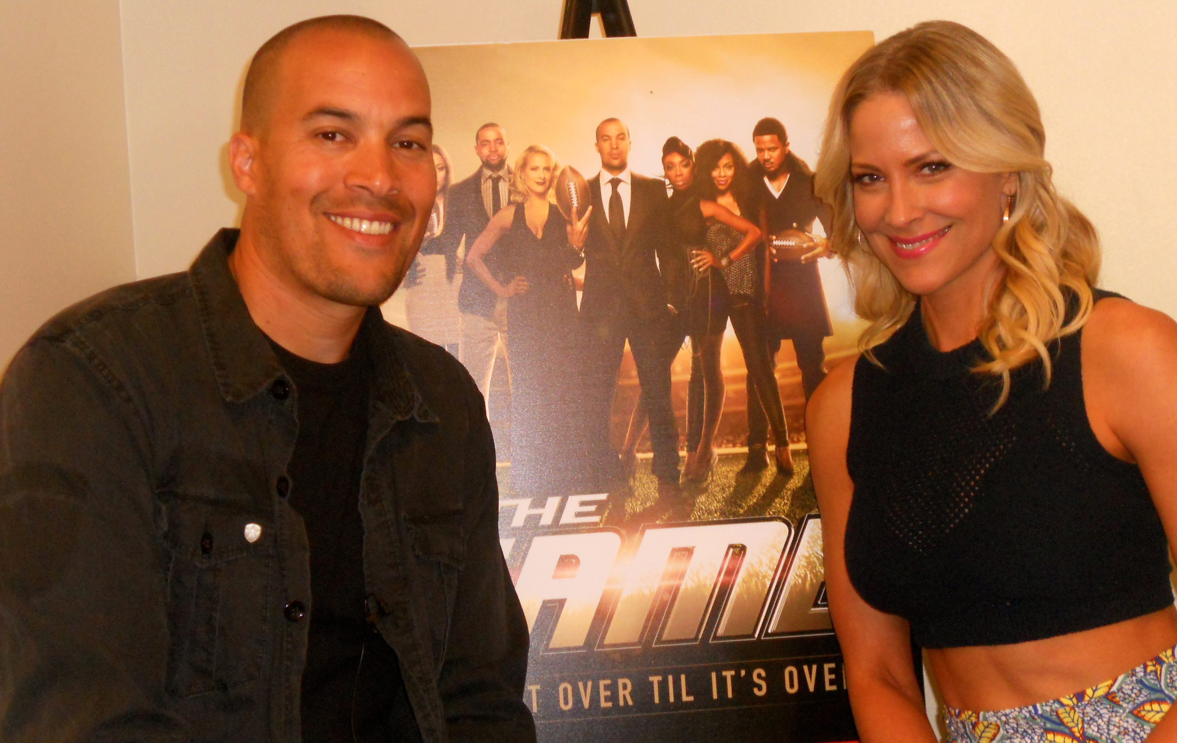 """Coby Bell & Brittany Daniel of """"The Game"""""""